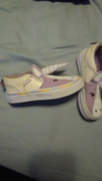 Vans exclusive unicorn style size 11 toddler