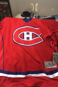 Brand new tag on Montreal Canadiens  NHL jersey Abbotsford, V2S 4H2