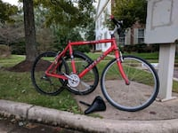 red and black road bike Fairfax, 22033