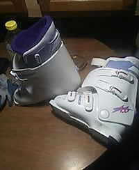 white-and-purple snow boots