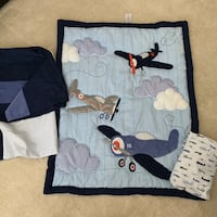 Airplane Nursery Bedding Set Ashburn, 20148