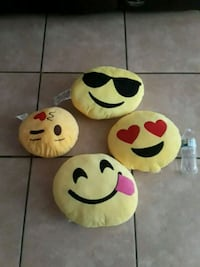 four emoji plush toys San Antonio, 78213