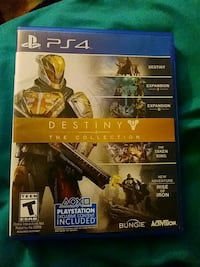 Sony PS4 Destiny game (DOES NOT COME WITH DLC)