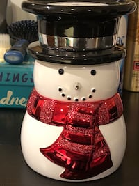 Snowman Candle Holder 34 km