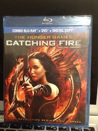 The hunger game: catching fire Blu Ray DVD