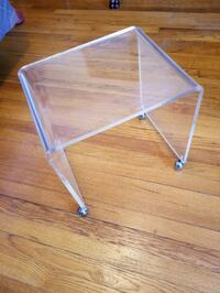 Vintage Lucite Table Midcentury Modern  Forest Hills, 11375