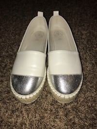 Pair of white leather loafers Bluffton, 29910