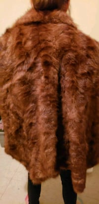 2 Mink shawl and  one mink  coat and mink  scarf