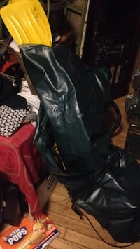 black leather knee-high boots Halifax, B3K 1N1