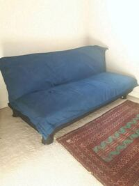 Futton with navy blue cover**pick-up only  Richmond Hill, L4C 0J4