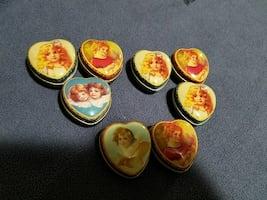 Collectible Victorian pull boxes