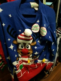 Ugly Christmas sweater new with tags