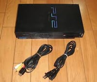 PS2 W/Cables! (No Controllers)