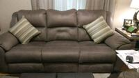 grey 3-seat recliner sofa in excellent condition Stone Mountain, 30083