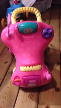 Really good pushing n riding two in one toy, suitable for babies they can walk n run.  Halifax, B3M