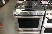 KitchenAid stainless steel slide in gas stove 10% off Reisterstown, 21136