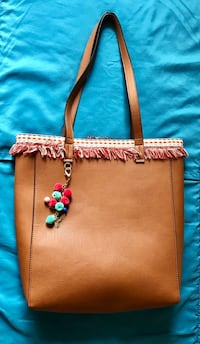 New Brown leather tote Arlington, 22204
