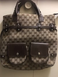 Brown Gucci backpack Windsor, N8X 1K7