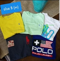 Boys shirts size 8 Brownsville, 78526