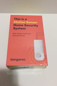 Kangaroo Motion Sensor Home Security Wireless Free Subscription includ Springfield, 22150