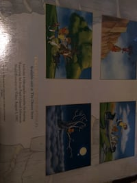 Disney Lithograph- 4 separate Lithographs of Pooh's Grand Adventure never opened