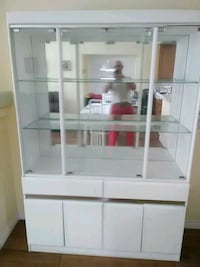white wooden cabinet with mirror Las Vegas, 89134