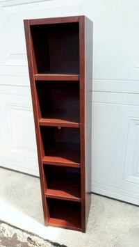 Small Solid Burgundy Shelf Pointe-Claire