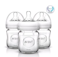 Philips Avent Natural Glass Baby Bottles, 4 Ounce  Falls Church, 22043