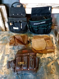 Leather pouches and electric pouches