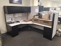 Steelcase Office Furniture Desk/Drawers/Cubicle Walls LUTHERVILLETIMONIUM