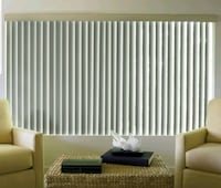 JC Penny Vertical Blinds (Taupe) District Heights, 20747