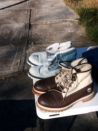 Timberland boots 2 pair