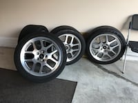4 Shelby/Mustang Wheels,18x10, Aldie, 20105