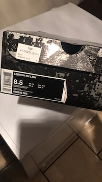 Black and white air jordan 11 shoe box Odessa, 79761