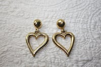 heart earrings FREEHOLD