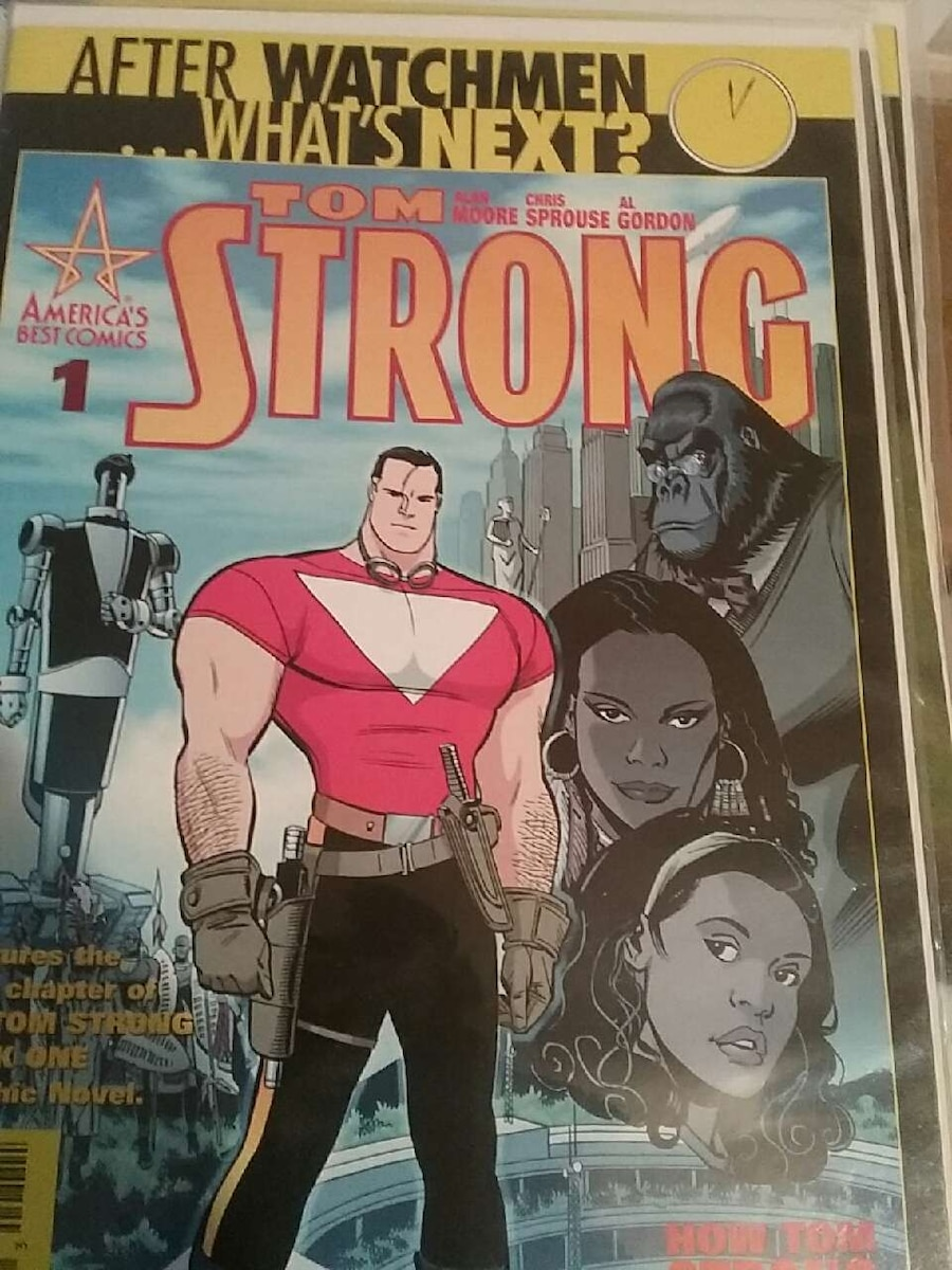 Tom Strong comic book
