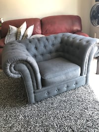 UK Chesterfield armchair fashionable