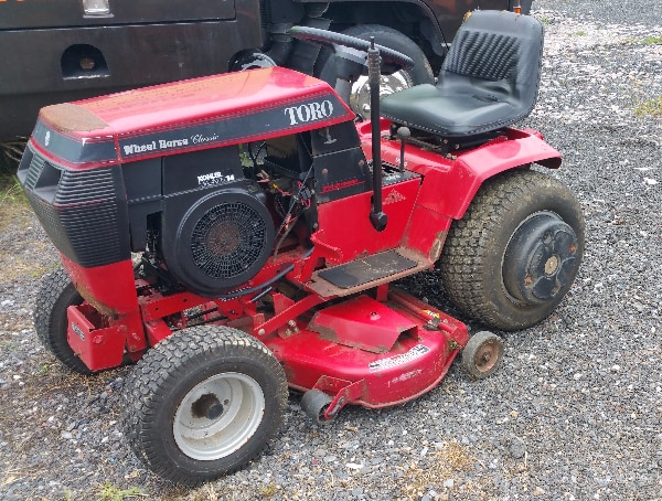 Toro Wheel Horse Clic Garden Tractor 42 Mower Lawnmower