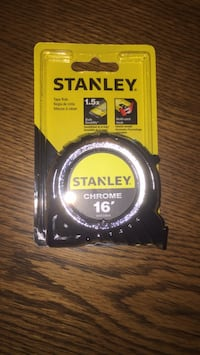 16' chrome stanley tape rule Plano, 75023