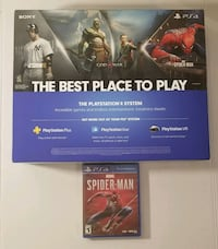 NEW Ps4 1TB + spiderman game bundle Chantilly, 20151