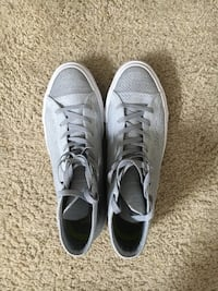 Converse Chuck Taylor All Star High Top Flyknit Shoes Grey/White Belton, 76513
