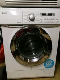 Kenmore washing machine and dryer stackable.