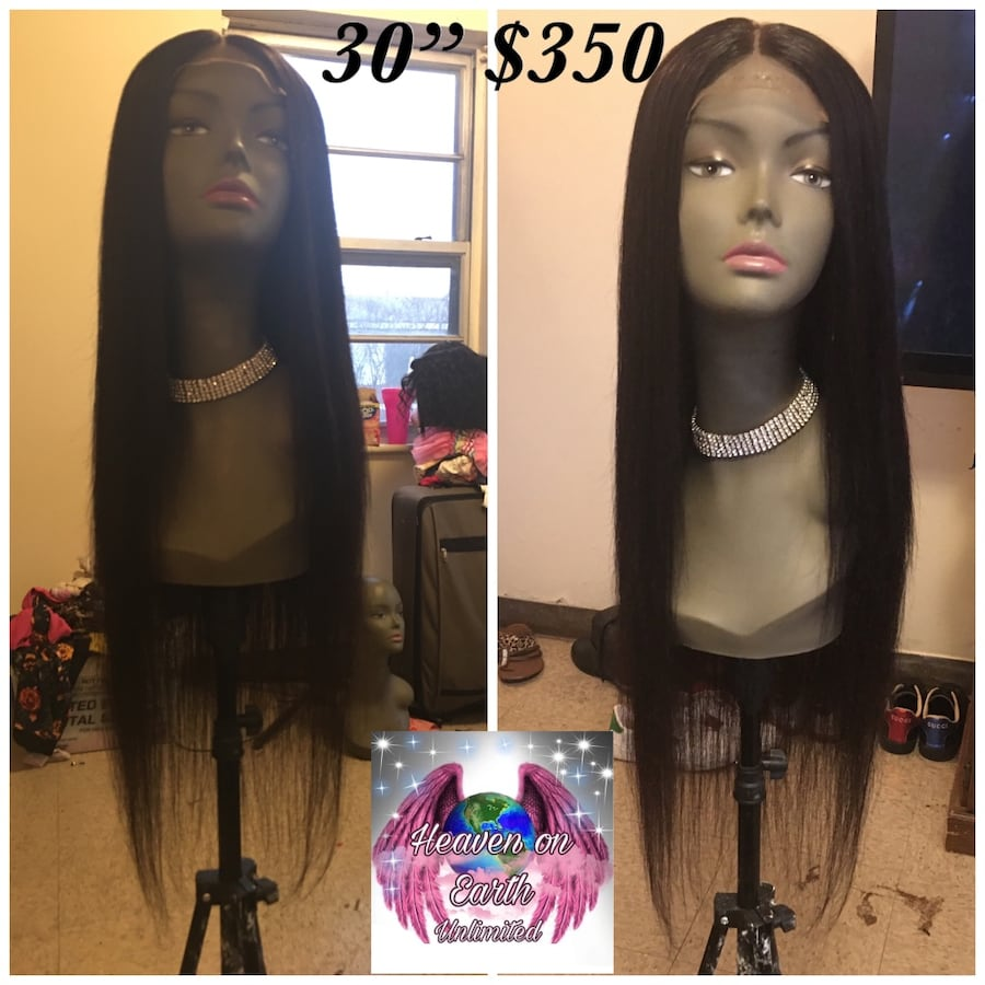 """30"""" Virgin hair lace front wig $335"""