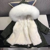 Girls size 4T winter coat faux fur parka (brand new accidentally ordered 2)  Ottawa, K1C