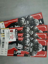 4 tickets to stamps game (July 18)