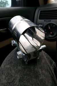 """2"""" Exhaust Lap Joint Sleeve Clamp Toronto, M3L 2E2"""