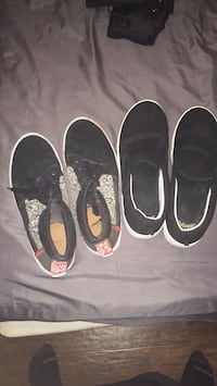 pair of black and white slip on shoes Tallahassee, 32309