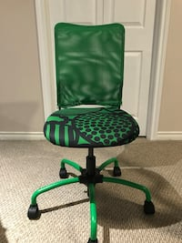 green and black rolling chair Edmonton
