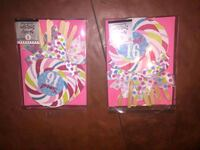 2,packs sweet 16 invitations bnwt Baltimore, 21224