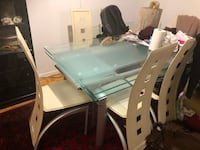 Glass dining tables with 6 chairs  Toronto, M3N 1J6